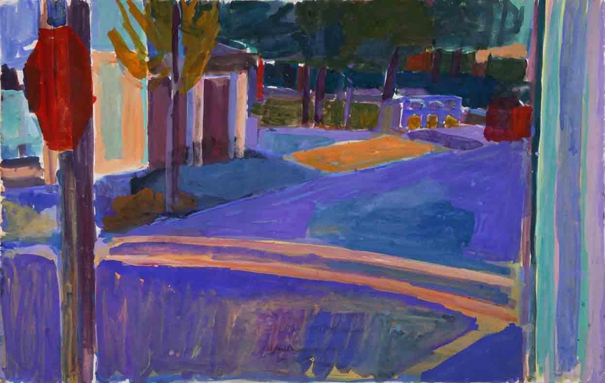 Studio View / Orange Crosswalk